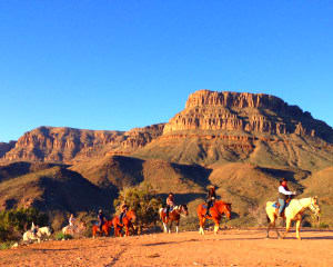 Horseback Riding Grand Canyon Western Ranch with Breakfast or Lunch - 1 Hour 30 Minutes