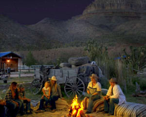 Horseback Riding Grand Canyon Western Ranch with Dinner - 1 Hour 30 Minutes