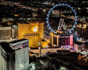 Private Helicopter Tour Las Vegas, Night Flight - 15 Minutes