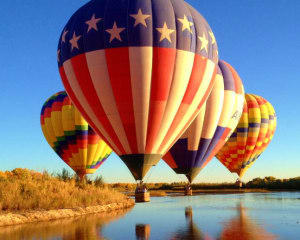 Hot Air Balloon Ride Albuquerque, Rio Grande Valley - 1 Hour Sunrise Flight