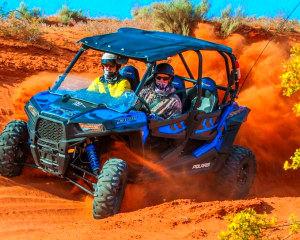 UTV Tour St. George, Hurricane Sand Dunes - 5 Hours