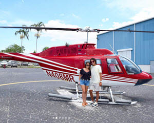 Helicopter Ride Miami, Golden Beaches - 20 Minutes
