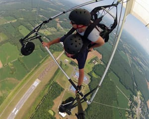 Hang Gliding Virginia - 2,000ft Flight