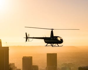 Private Helicopter Tour Los Angeles, Sunset Champagne Flight - 1 Hour
