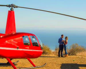 Private Helicopter Ride Los Angeles, Landing and Picnic, 90min