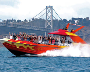San Francisco Bay RocketBoat - 30 Minute Speedboat Tour