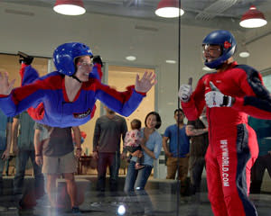 Indoor Skydiving Houston-Woodlands - Earn Your Wings