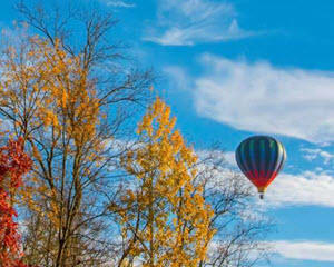 Hot Air Balloon Ride Upstate New York - 1 Hour Flight