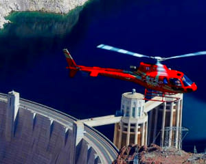 Deluxe Coach, Helicopter and VIP Ground Tour Hoover Dam - 6.5 Hours