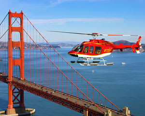 Helicopter Tour San Francisco with Wine Country Landing and Wine Tasting