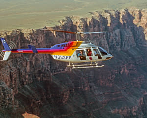 Helicopter and Sunset Hummer Tour Grand Canyon South Rim, North Canyon Heli Flight - 3 Hours