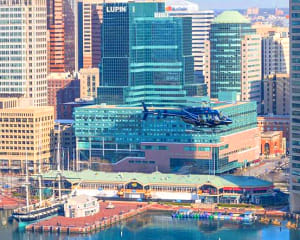 Helicopter Tour Baltimore, Downtown Flight - 12 Minutes