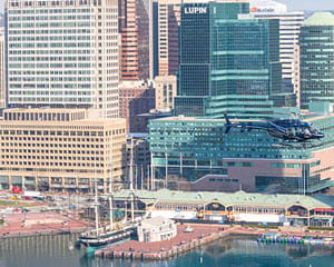 Helicopter Tour Baltimore, Charm City Flight - 20 Minutes