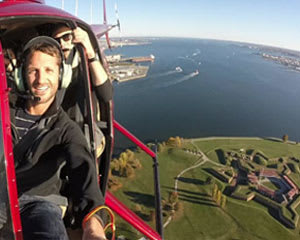 Helicopter Tour Baltimore, Bay Bridge and Annapolis Flight - 30 Minutes