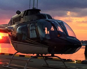 Helicopter Tour Baltimore, Charm City with VIP Dinner - 20 Minutes