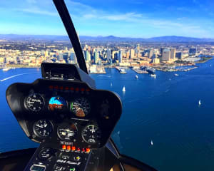 Helicopter Tour Oceanside and Carlsbad - 15 Minutes (3rd Passenger Rides for Free!)