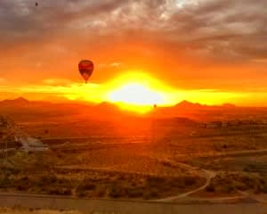 Hot Air Balloon Ride Phoenix Area, Sunset Flight - 1 Hour