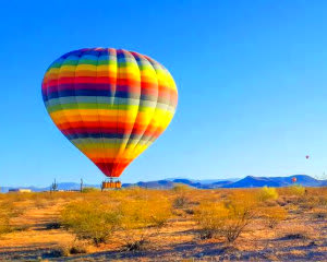 Hot Air Balloon Ride Phoenix Area, Private Charter Flight - 1 Hour