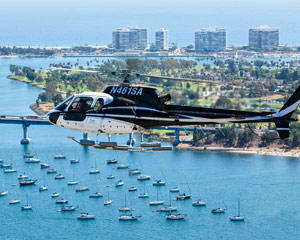 Helicopter Ride San Diego - 45 Minute Top Gun Military Tour