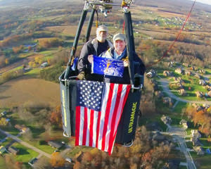 Hot Air Balloon Ride Louisville - 1 Hour Flight