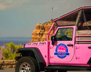 Sunset Jeep Tour Grand Canyon South Rim, Grand Entrance Tour - 2 Hours