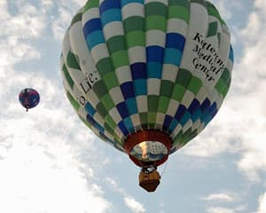 Private Hot Air Balloon Ride Cincinnati, Weekend - 1 Hour Flight