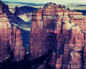 Helicopter Tour Sedona, Wild West Tour - 50 Minutes
