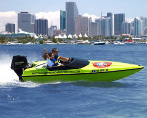 Speed Boat Tour Miami - 2 Hours