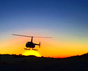 Helicopter Tour Oceanside to Del Mar, Sunset Flight - 30 Minutes (3rd Passenger Rides for Free!)
