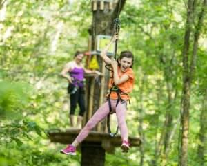 Zipline Treetop Adventure Derwood, Maryland  - 2 Hours 30 Minutes