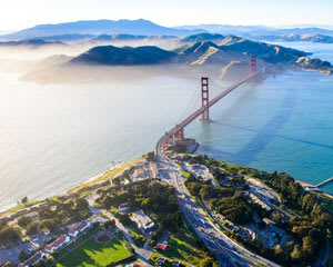 San Francisco Helicopter Ride, Golden Gate Bridge Tour - 45 Minutes