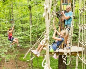 Zipline Treetop Adventure Cleveland, Strongsville - 2 Hours 30 Minutes
