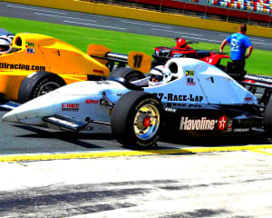 INDY-STYLE CAR Drive, 8 Minute Time Trial - Kansas Speedway