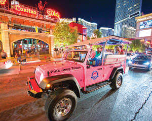Jeep Tour Las Vegas - Three Hour Night Tour (Includes Hotel Shuttle)