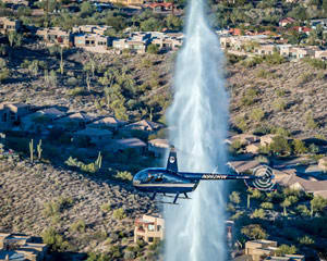 Helicopter Tour Mesa, Fountain Hills, Desert Mountains, and Lakes- 30 Minutes