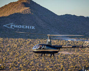 Helicopter Ride Phoenix - 20 Minutes