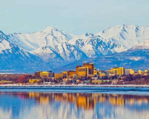 Helicopter Ride Anchorage City Tour - 15 Minutes