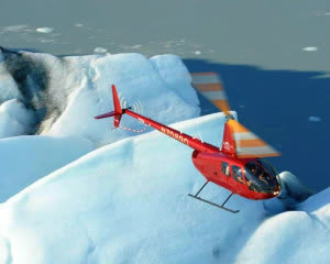 Helicopter Ride Anchorage, Knik Glacier Tour with Landing - 90 Minutes