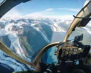Helicopter Ride Anchorage, Eagle Glacier Tour  - 50 Minutes