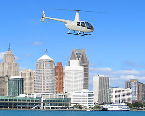 Private Helicopter Ride Detroit South Suburbs, Doors Off Adventure - 15 Minutes (3rd Passenger Rides for Free!)