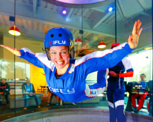 Indoor Skydiving, Oklahoma City - 2 Flights