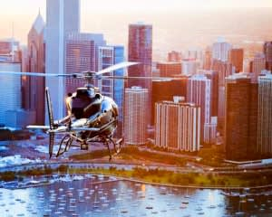 Helicopter Pilot Experience Chicago - 1 Hour (30 Minutes of Flying!)