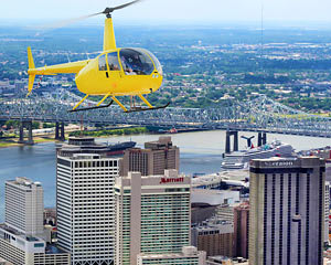Helicopter Tour New Orleans, City Flight - 15 Minutes