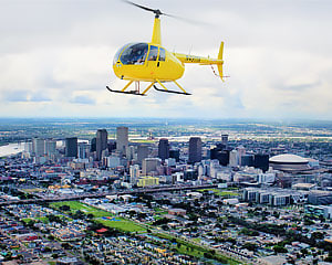Helicopter Tour New Orleans, All Around Town - 1 Hour