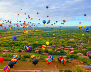 Hot Air Balloon Ride Albuquerque, Balloon Fiesta Flight - 1 Hour Weekday Flight