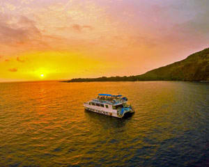 Big Island Catamaran Dinner Cruise to Kealakekua Bay - 3 Hours