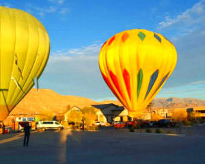 Hot Air Balloon Ride Las Vegas - 1 Hour Flight (Includes Wine Tasting and More!)