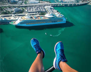 Doors-Off Helicopter Tour Miami, Private Ride - 25 Minutes