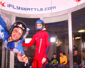 Indoor Skydiving iFLY Seattle - 2 Flights