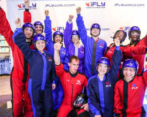 Indoor Skydiving iFLY Westchester - 2 Flights